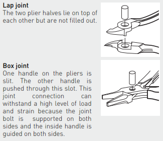 Ideal-tek_PLIERS TECHNICAL_TYPES OF JOINTS